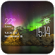 Aurora weather widget/clock by Widget Studio