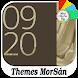 Golden - X : Xperia Theme by Themes MorSán