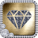 Gold Diamond Glitter Theme by Cool Launcher Theme