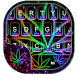 Glow Rasta Weed Keyboard Theme by Fancy Theme for Android keyboard