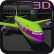 Airport Jet Plane 3D Parking by Jellycs