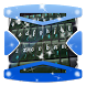Wolf night Keyboard Theme by Gradient Themes