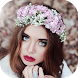 Flower crown photo editor by ChanceApp