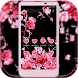 Pink rose flower Diamond love by Leotheme MT Studio