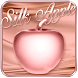 Rose Gold Silk Apple Theme by The Best Android Themes