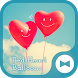 Cute Wallpaper Red Heart Balloons Theme by +HOME by Ateam