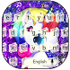 Glitter Unicorn Keyboard Theme by Super Cool Keyboard Theme