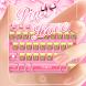Pink Love Keyboard Theme by Keyboard Dreamer