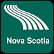 Nova Scotia Map offline by iniCall.com
