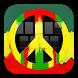 GO Keyboard Peace Rasta by Keypad Emoji Keyboard Theme Design