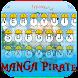 Manga Pirate Theme&Emoji Keyboard by happy emoji keyboard theme studio
