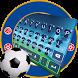 Chelsea Real Football Keyboard by Keyboard Theme Studio