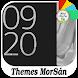 Silver - X : Xperia Theme by Themes MorSán