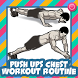 Push Ups Chest Workout Routine by Henasy