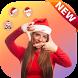 Santa Claus Photo Editor With Christmas Stickers by Vidalti