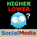 Higher Lower Social Media by KitoApps