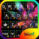 Weed Rasta Keyboard by Keyboard themes