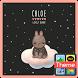 Bunny Chloe(뭉게구름) 카톡 테마 by iConnect