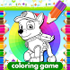 Coloring Paw Patrol Game by Coloring Gaming