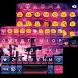 Cross Emoji Keyboard Theme by Keyboard themes
