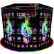 Hologram Neon Music theme by Cool Launcher Theme