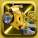 Super Golden Sonic Moto-cross by realapps
