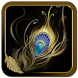 Gold Feather Theme by New CM Launcher Theme