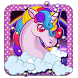 Dreamy Unicorn Rainbow Theme by stylish android themes