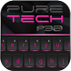 Pure Tech Theme :: Neon Keyboard by ChickenAnt Themes
