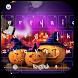 Halloween Spooky Pumpkin Keyboard Theme by Theme Creative Center