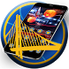 Fire Basketball Theme for NBA Warriors by Fabulous Theme Wallpapers