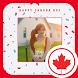 Canadian Flag Photo Frames by Pixel Frames