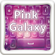 Pink Galaxy Theme by Color Keyboards