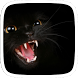 Black Mad Cat by Huizhang Theme