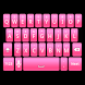 Simple Pink Keyboard Skin by Stealthychief Keyboard Themes
