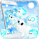 Cute Blue Aquarium Sea Seals Theme by Keyboard Theme Artist (Smart Keyboard And2017)