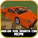 Sport Cars Addon for Minecraft by Mods Maps MCPE
