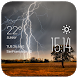 Lightning Clock weather widget