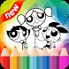 Coloring Powerpuff Girls Game by Free Games Studio.