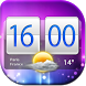 Clock And Weather Widget by Super Widgets