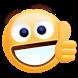 Free Thumbs Up Emoji Sticker by Funny Sticker Design