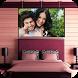 Bedroom Photo Frames by Pixel Frames