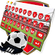 Arsenal Football Keyboard by Keyboard Theme Studio