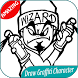 300 How To Draw Graffiti Character by appsdesign