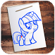 Learn to Draw My Little Pony by mahatmamob
