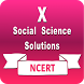 NCERT X Soc. Science Solution by DRS Apps