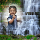 WaterFall Photo Frame by bubbles app