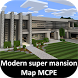 Mansion House Map for MCPE by Mods Maps MCPE