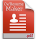 Cv/Resume maker by TopDeveloperZone