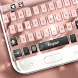 Pink Gold Keyboard Theme by Keyboard Dreamer